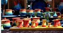 3 Töpfereien aus Leer (Ostfriesland)/Pottery from Leer (Ostfriesland),Germany