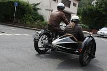 43 Motorrad mit Beiwagen/Biker with sidecar