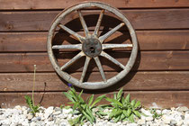 8 Holzrad/Wooden Wheel