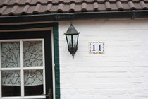 58 Lampe+Hausnummer/Lamp+House number