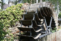 96 Wasserrad/Water wheel