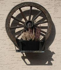 58 Kutschenrad/Wheel of a carriage