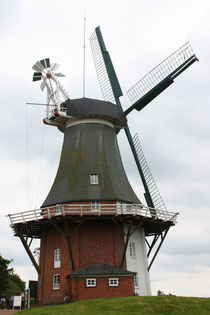 1 Windmühle Greetsiel/Windmill Greetsiel