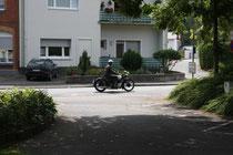 2 Motorradfahrer/Biker