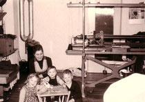 Ehemalige Strickstube der Maschinen-Strickerei von Elfriede Haag in der Philippsburger Straße