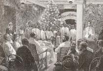 Weihnachtsschulfeier in Deutsch-Afrika nach Fritz Bergen (geb. 1857)