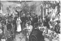 Vereinsweihnachten nach Fritz Bergen,1887