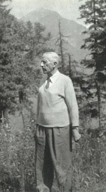 Teilhard at Glacier Park Montana in 1952
