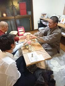 12/17の寺飲み会は近隣の男性が二人ご参加下さいました。ありがとうございます。
