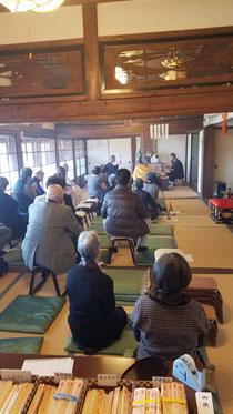 2019/12/25 淡路市江井の神宮寺での納め護摩法要です。