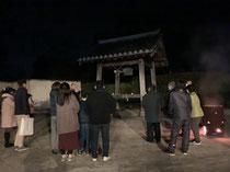 2019/12/31淡路市江井の神宮寺の除夜の鐘です。