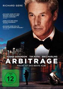 Arbitrage - die Macht der Macht - (das Kinoposter)