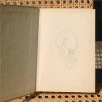 Petra Mettke/Gedichtbandoriginal von 1979/Innencover
