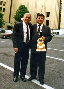 André Prévost y José Manuel Montañés. Universidad de Montréal 1997