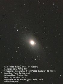 Andromeda M31 NGC224