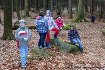 """Unterwegs mit den """"Jungen Naturforschern"""" aus der Grundschule Steinigtwolmsdorf"""