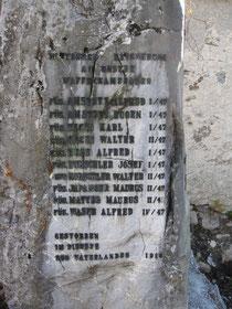 Gedenkstein Engelberg