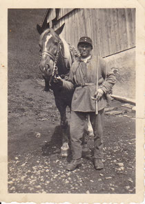 Alfred Iten als Soldat