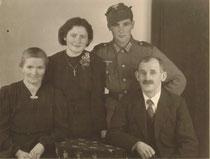Maria Beinberger und Familie