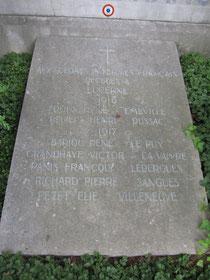 Franzosendenkmal Luzern 1914 - 1918