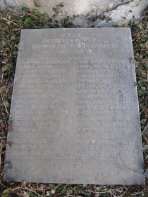 Franzosendenkmal Unterseen 1914 - 1918