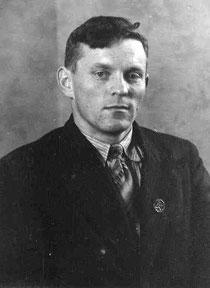 Alfred Iten in jungen Jahren