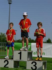 1.Rang Jan Bühlmann und 3.Rang Simon Vuillemin