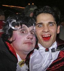 Es war von Vampiren bis Hasen alles vertreten: Die Narren hatten sich viel Mühe mit ihren Kostümen gegeben.