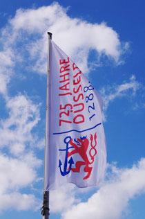 725 Jahre Düsseldorf Fahne