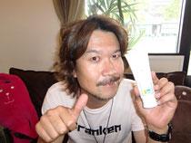DJ YUYA氏とアロマ配合洗顔フォーム