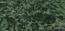 Vormittagtour auf Google Earth
