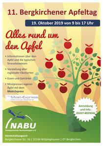 Apfelfest 2019 in Bergkirchen - Erleben Sie Streuobst, Mostpressen, naturreinen Saft und mehr am 8. Bergkirchener Apfeltag - Alles rund um den Apfel...