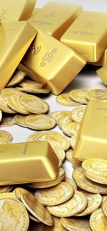 Es ist unklug, das Gold zuhause aufzubewahren.