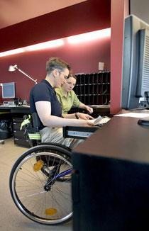 Behinderte mit einer Anstellung fallen nicht unter die Quote.