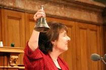 Christine Egerszegi, Nationalratspräsidentin im Jahr 2007, ist für Frauenrentenalter 65.