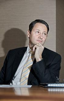 Roland Heiniger, bei der CS Leiter Private Banking Region Mittelland.
