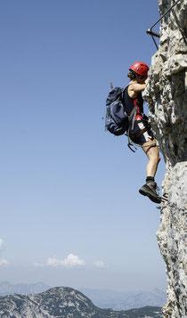 Gut ausgerüstete und erfahrene Bergsteiger brauchen keine Zusatzversicherung gegen Unfall.