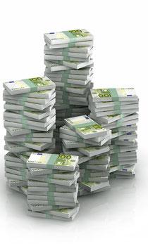 Euro-Anlagen werfen höhere Renditen ab als Frankenanlagen - wenn man den Währungsverlust ausklammert.