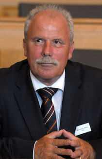 Heinz Burkhard, Chef der AHV des Kantons Bern.