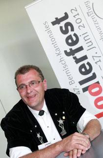 """Ueli Zahnd, der Komponist von  """"Das cha nur Liebi si""""."""