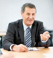 Jürg Bucher, Chef von Post und Postfinance.