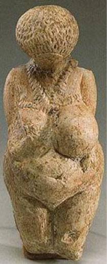 Abb. Originalfund  aus Kalkstein