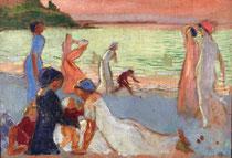 Maurice Denis, Soir de septembre, huile sur toile, vers 1911