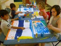 Atelier pour les enfants au musée des beaux-arts de Brest
