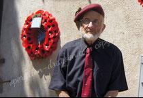 Peter Block . éclaireur parachutiste Britanique . le Mitan 2012.
