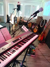 """Bei der """"MGE"""" in Peine Musik zum Gottesdienst"""