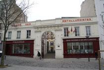 La Maison des Métallos aujourd'hui, anciennement manufacture Couesnon