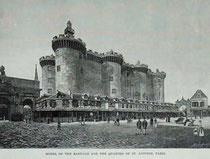 Reconstrucción de la Bastilla para la Exposición Universal de 1889