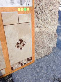 Mosaik für die Badezimmer