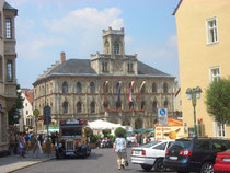 Weimar-Blick auf das Rathaus
